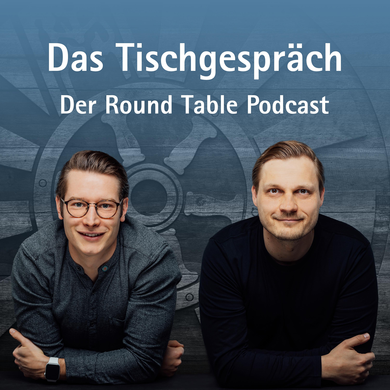 """Heute startet der Round Table Podcast """"Das Tischgespräch"""""""